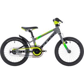 Cube Kid 160 Børn, grey'n'green'n'kiwi